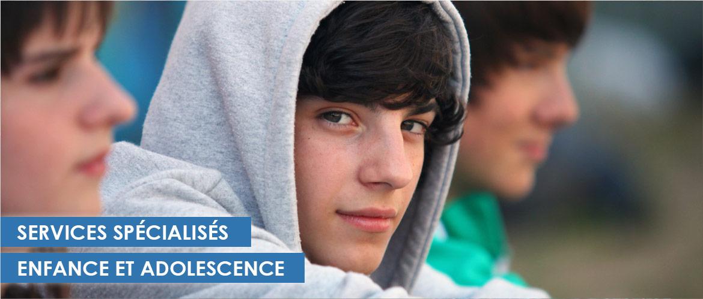 Services le centre de l'adolescence